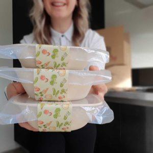 Duurzaam afbreekbaar verpakkingsmateriaal